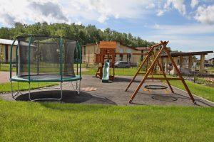 коттеджный поселок детские площадки