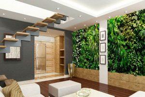 экологичный дизайн помещения