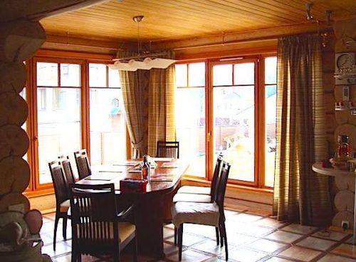 деревянные окна для дома 2018
