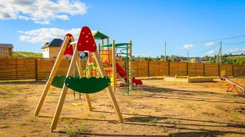коттеджный поселок детские площадки 2