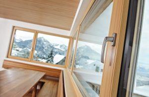 современные деревянные окна 2018