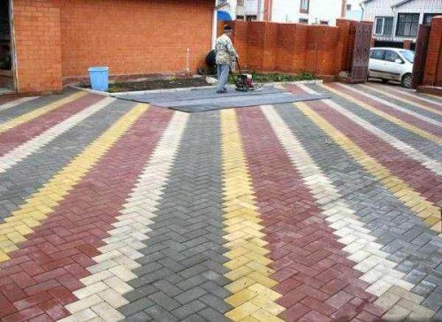Вибропресс и тротуарная плитка3
