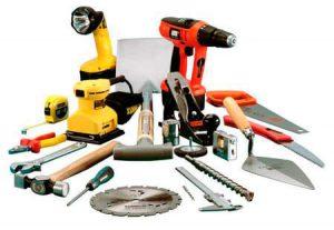 Инструмент для строительства деревянного дома