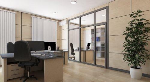 дизайн-проекта офисного помещения 2018