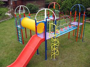 Металлические детские площадки