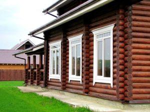 Установка окон в деревянных домах 2019