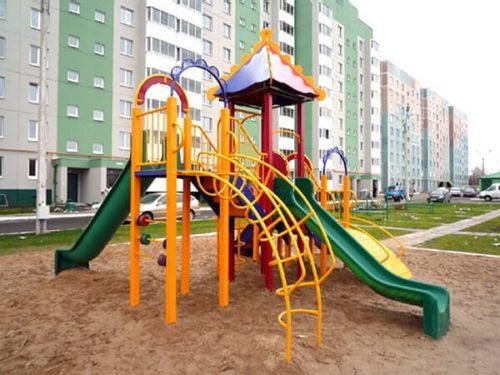 Металлические детские площадки 2018