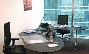 маленький офис