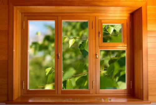 современные деревянные окна 3