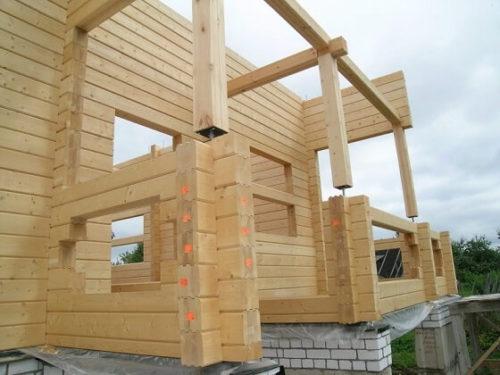 Строительство дома из бруса 2019