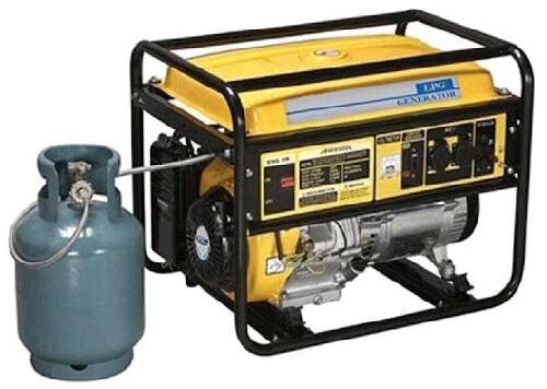 бытовые электрогенераторы на газе