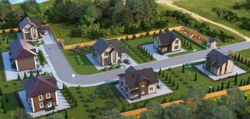 коттеджные поселки 2021