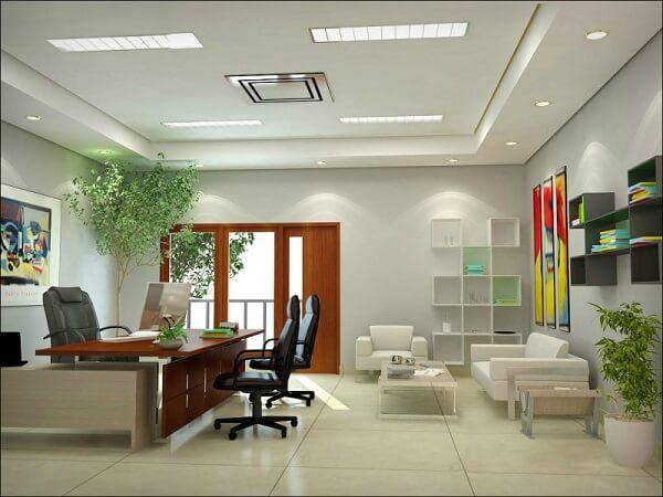 дизайнер по оформлению интерьера офиса