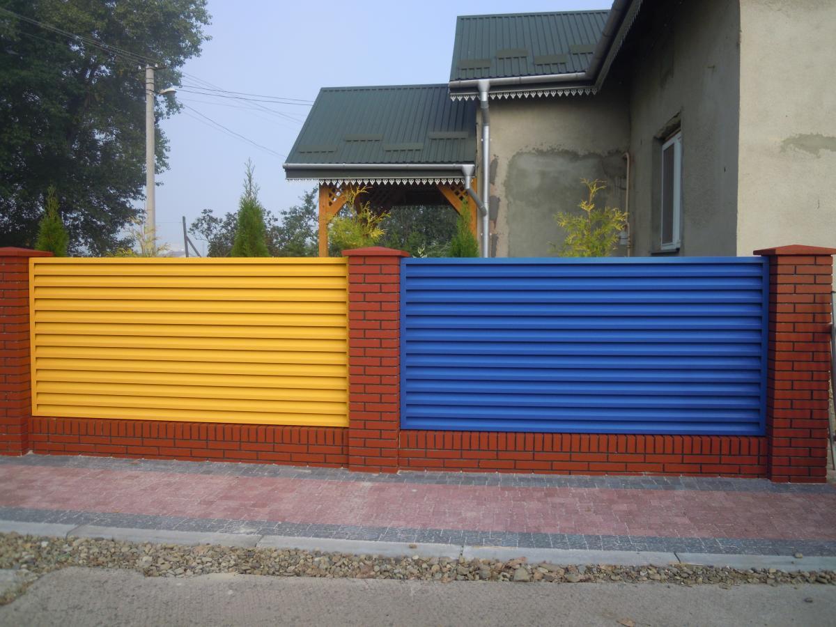 Забор-жалюзи